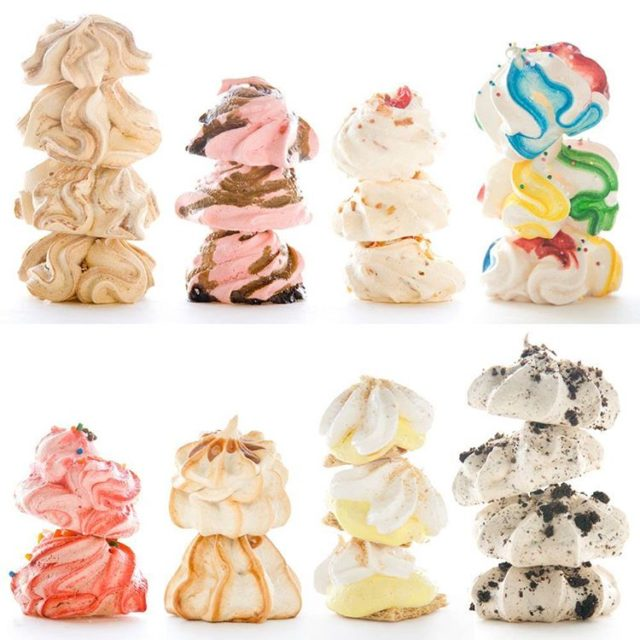 I swear meringues are magic How else could one littlehellip