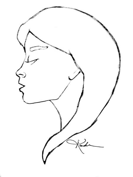 illustration, profile