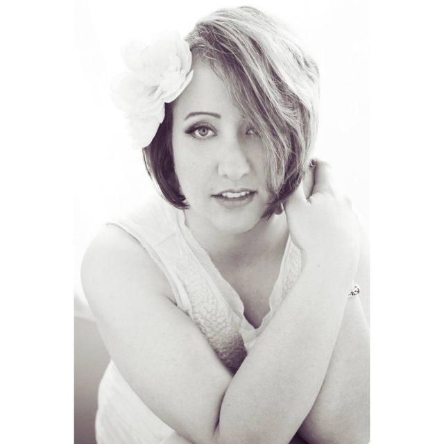 My beautifulinsideandout friend Danielle kcphotographer gardner gardnerphotography beauty glamour flowersinherhairhellip