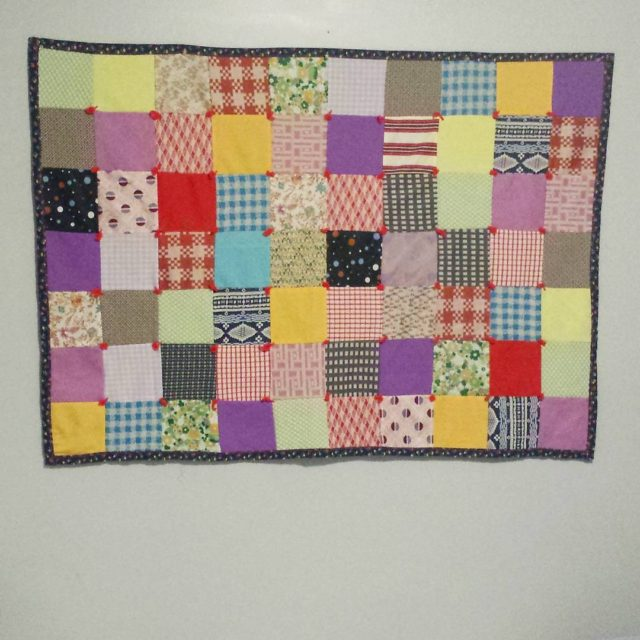 How cute is this little lap quilt I found inhellip